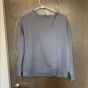 American Eagle light blue sweatshirt Medium